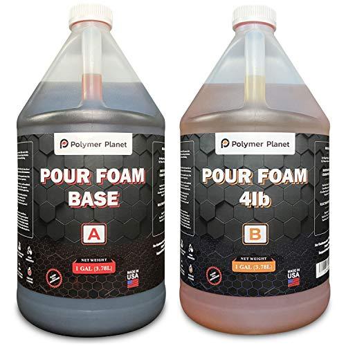 Liquid Urethane Rigid Pour Foam 4LB Foam 4 Gallon Kit