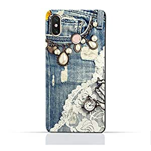 AMC Design Xiaomi Mi 2A TPU Silicone Protective case with Modern Jeans Pattern