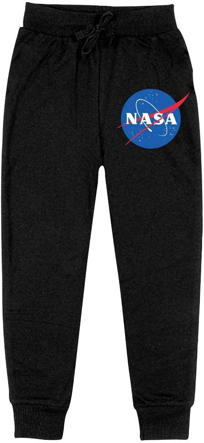 AolaZW NASA Cotton Sweatpants Unisex Kids Casual Long Sport Pants