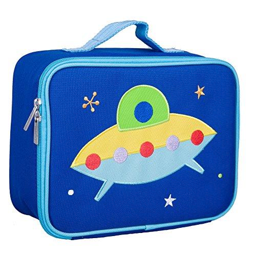 Wildkin Embroidered Lunch Box, Spaceship