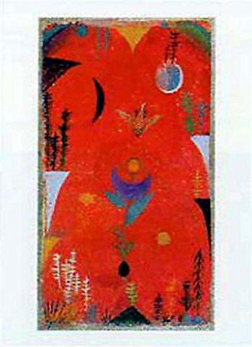 Posters: Paul Klee Poster Art Print - Blumenmythos