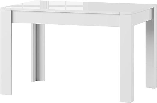 Tisch Küchentisch Esszimmertisch Esstisch WENUS ausziehbar 300cm Weiß Matt