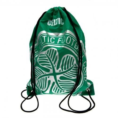 Celtic Foliendruck Turnbeutel Offizielle FC Sport Training Turnschuhe von Celtic FC.