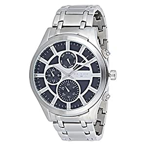 Blade Dress Watch For Men Analog Stainless Steel - 10-3494G-SN