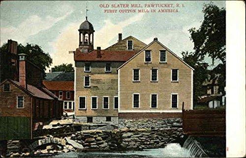 - Old Slater Mill Pawtucket, Rhode Island Original Vintage Postcard