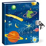 Peaceable Kingdom-Deep Space Glow-In-The-Dark-Lock and KeyDiary