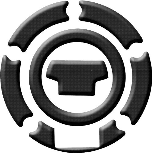 Keiti Additions Gas Cap Protector/Yamaha - Carbon Fiber - 5 Bolt