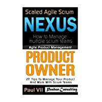 Agile Product Management: Scaled Agile Scrum: Nexus & Product Owner 27 Tips to manage your product (scaled agile, scrum master, scrum of scrums, agile software development, agile program management)