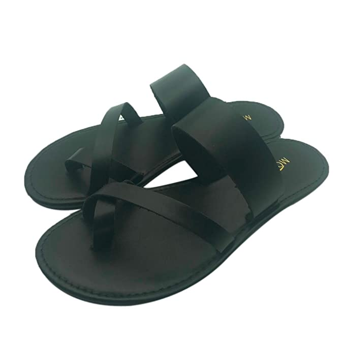 d458864ae713a Women Flat Sandals, Summer Casual Ankle Flat Strappy Gladiator Outdoor  Homewear Flip Flops Shoes Beach Slipper Sandals