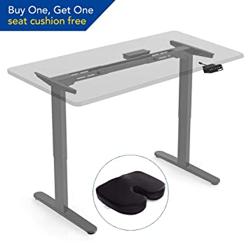 FlexiSpot E2S Height Adjustable Electric Standing Desk Frame Only ...