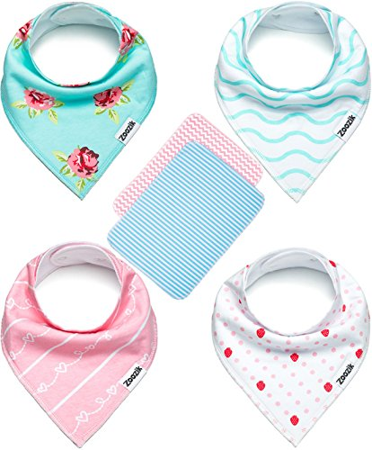 Bandana Drooling Teething Absorbent Hypoallergenic