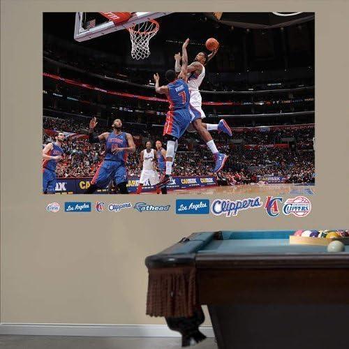 NBA DeAndre Jordan Dunk Mural Fathead Wall Graphic by Fathead ...