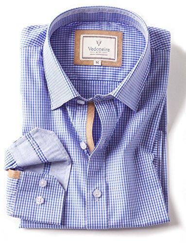 Vedoneire -  Camicia Casual  - A quadri - Uomo