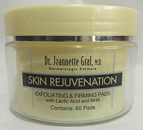 Dr. Jeannette Graf Skin Rejuvenation Exfoliating and Firming Pads with Lactic Acid and BHA (Jeannette Graf)