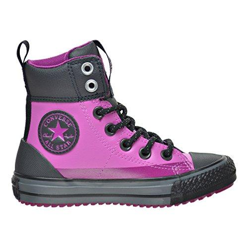 Converse Girls Chuck Taylor All Star Asphalt Boot HI Dahlia Pink 11 M]()