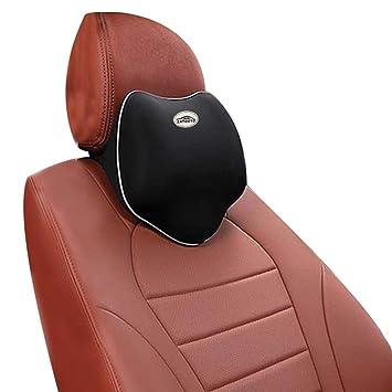 komfortabel ZATOOTO Auto Nackenkissen Atmungsaktiv Kopfst/ütze Kissen f/ür Autositz Schwarz A01 Nackenst/ütz mit Memory Schaum f/ür Fahren