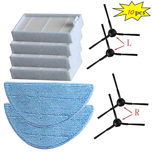 FYH New Cleaning Robot Vacuum HEPA Filter Side Brushes for I