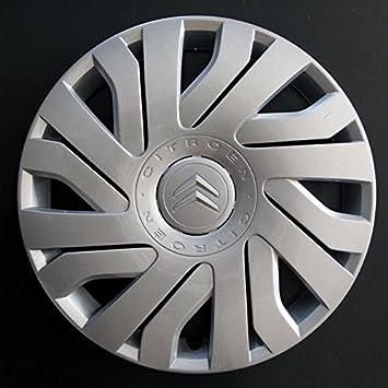 """Citroen C1 C2 Berlingo Saxo 14 """"wheeltrim, borde de la rueda Hub Tapa"""