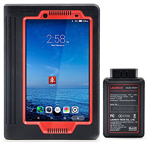 LAUNCH X431 V (X431 PRO) 8inch WiFi/Bluetooth Full System Diagnostic Tool Support Injector Coding and Key Coding, 2 Years Free Update by LAUNCH (Image #9)