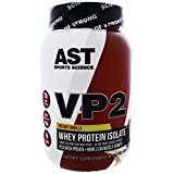AST Sports Science, VP2, Whey Protein Isolate, Creamy Vanilla, 2.12 lbs (960 g) - 3PC
