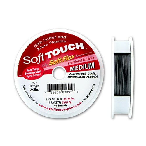 (Soft Touch by Soft Flex Beading Wire .019 IN. 100 ft)