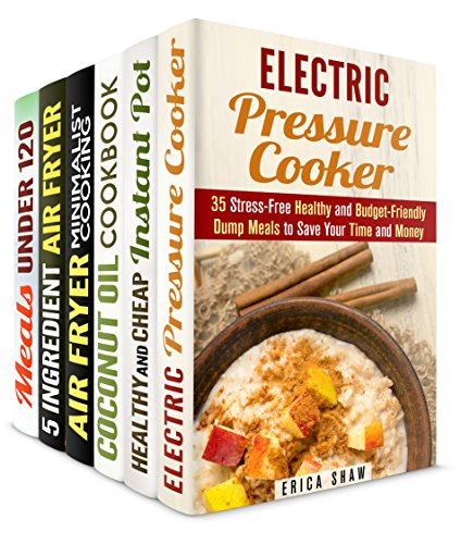 Budget-Friendly Recipes Box Set (6 in 1): Over 150 Healthy and Delicious Cheap Recipes for a Frugal Cook (Instant Pot & Low Carb Meals) by [Shaw, Erica, Melton, Emma, Bishop, Olivia, Orr, Valerie, Norton, Tamara, Foster, Beth]