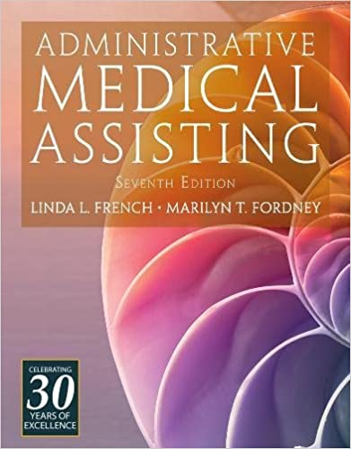 Administrative medical assisting with premium web site 2 terms 12 administrative medical assisting with premium web site 2 terms 12 months printed access card 7th edition fandeluxe Image collections