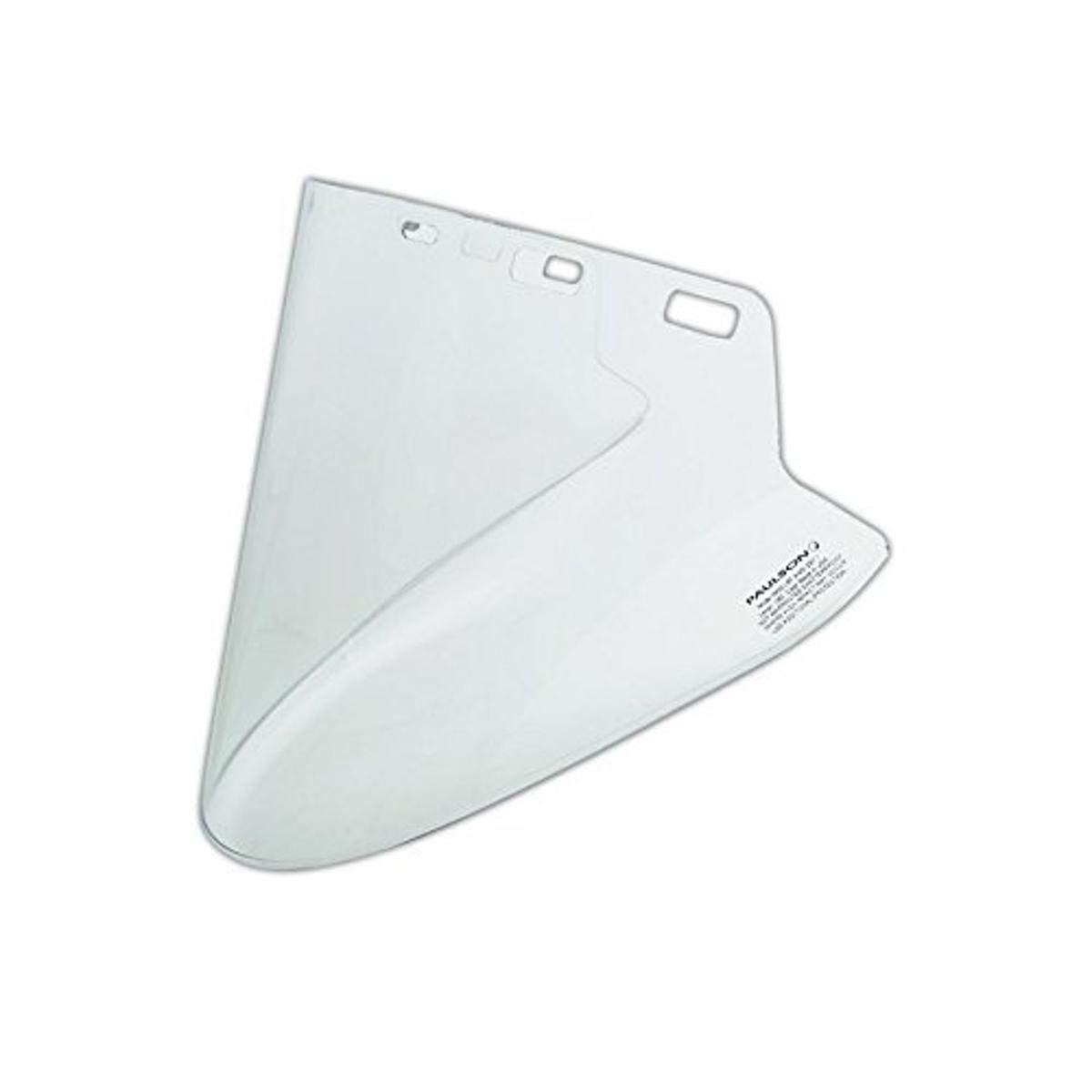 CLEAR VISOR HIGH TEMP FORMED LEXAN 10X20X.060 SKU - PAUL//IM20-L6F