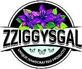 Zziggysgal 30 Empty Organza Drawstring Sachet Bags, Size 3x4 inches
