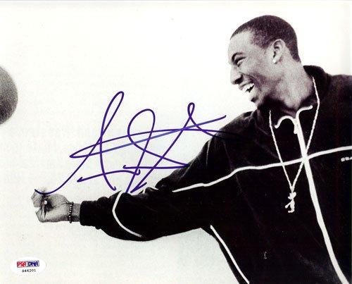 Amare Stoudemire Signed 8x10 Photograph Suns - Certified Genuine Autograph By PSA/DNA - Autographed Photo