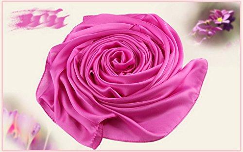 Acmede Chale Pour Foulard 2 Soie Ete En Hiver Coton Echarpe Wrap Elegant Long Couleur Femme Doux Cou WvAPrYWa