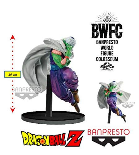 Dragon Ball Z World Colosseum Ii (b) Piccolo Ref.29258/29259 Bandai Banpresto Cores Diversas, Feita Com Pintura Aerográfica