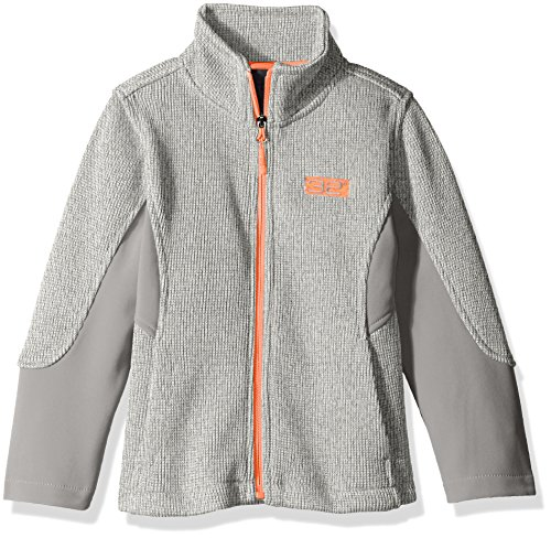 Heather DEGREES Grey Fleece 32 Girls Jacket Softshell Jacket Spider a f0d6q