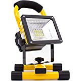 Lanterna Holofote Recarregavel 14400mah 30w A Prova D'agua 24 leds