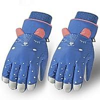Kinderen Winter Ski Handschoenen, Waterdicht Winddicht Antislip Winter Warm Handschoenen, Kinderen Ski Wanten voor…