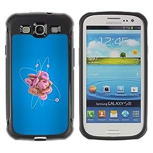 Suave TPU GEL Carcasa Funda Silicona Blando Estuche Caso de protección (para) Samsung Galaxy S3 III I9300 / CECELL Phone case / / Donut Atom Funny /