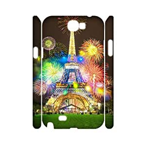 taoyix diy Fireworks 3D-Printed ZLB594513 Custom 3D Phone Case for Samsung Galaxy Note 2 N7100