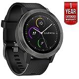 GPS_OR_NAVIGATION_SYSTEM N/A Amazon, модель Garmin vívoactive 3 GPS Smartwatch - Black & Gunmetal, артикул B074K9HNXD