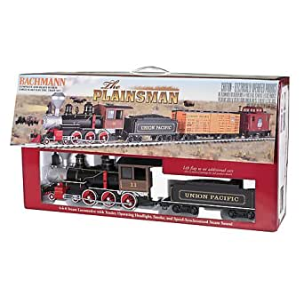 "Bachmann The Plainsman Ready To Run Electric Train Set - Large ""G"" Scale"