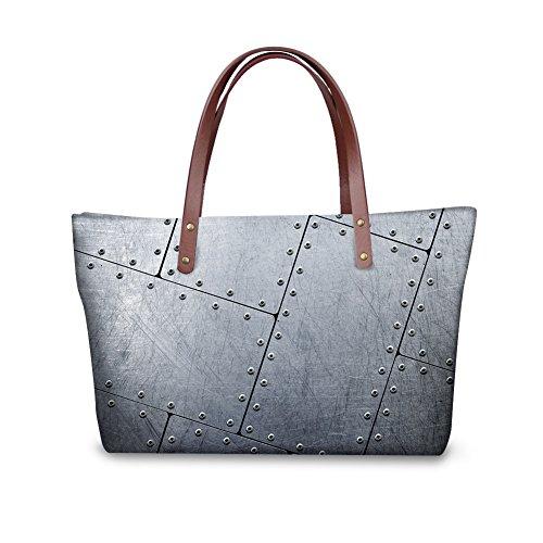 FancyPrint Bags Shopping Women Top Handle V6lcc4279al Satchel Shoulder Handbags FwFpEqnr