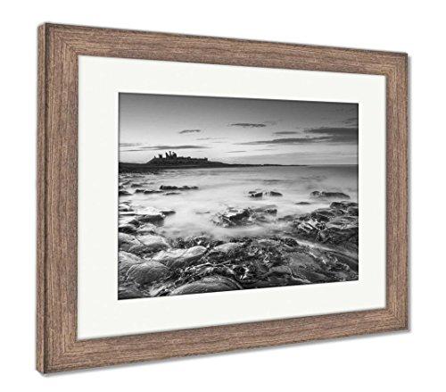 (Ashley Framed Prints Bucket List Sight, Wall Art Home Decoration, Black/White, 30x35 (Frame Size), Rustic Barn Wood Frame, AG6158086)