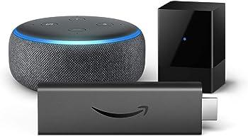 Amazon Fire TV Blaster + Fire TV Stick 4K + Echo Dot