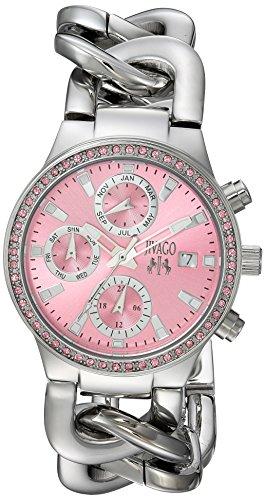 Jivago Women's JV1248 Analog Display Swiss Quartz Silver Watch