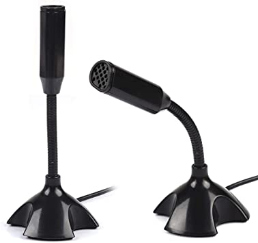 Interview Recording Sensitive Microphone with Detachable Anti-Vibration Frame Windproof Cover for DSLR Camera//Mobile Phone//Camcorder Bewinner Condenser Cardioid Microphone