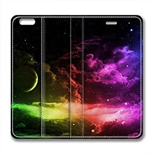 DIY Universe Iphone 6 Leather Case Colorful Starry Sky