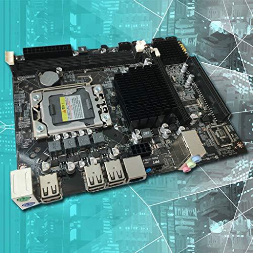 Lipiny Gaming Motherboard X58 LGA 1366 Motherboard Support REG ECC Server Memory and Xeon Processor Motherboard Mainboard