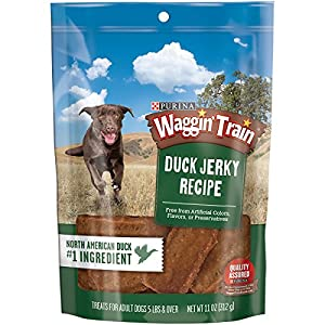 Amazon.com : Purina Waggin' Train Duck Jerky Recipe Dog