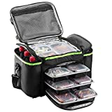 Cooler Bag Insulated By Outdoorwares Large Capacity Durable, To Keep Foods And Drinks In The Right Temperature - Good For Travel, Picnic, Beach Hiking, Camping ETC.(Containers Not Included))