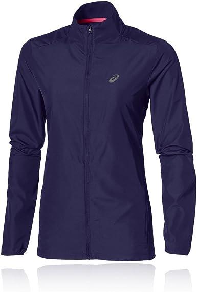Acción de gracias Brillante arcilla  Asics Essentials Women's Running Jacket - Medium: Amazon.co.uk: Clothing