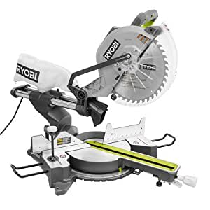 Ridgid ZRTSS120L 12 in. 15 Amp Sliding Compound Miter Saw with Laser (Certified Refurbished)